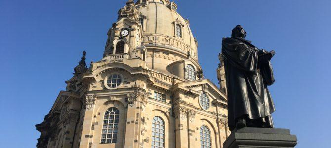 Baptism in Dresden